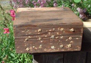 Fabricated bee block