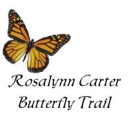 rosalynn carter butterfly trail logo for front of t shirt 3